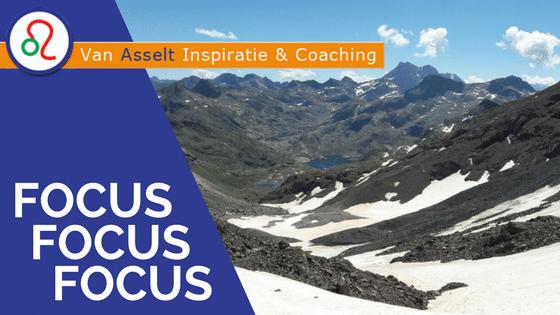 Focus, focus, focus.